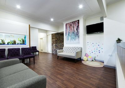 Dental Clinic Waiting Area