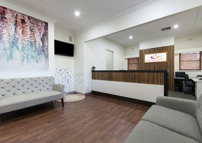 Dental Practice Waiting Area