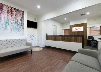 Dental Practice Waiting Area