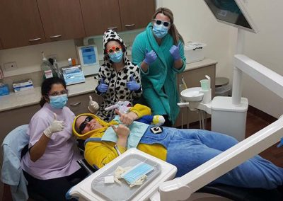 Bendigo Smiles Dentist Team in Costume