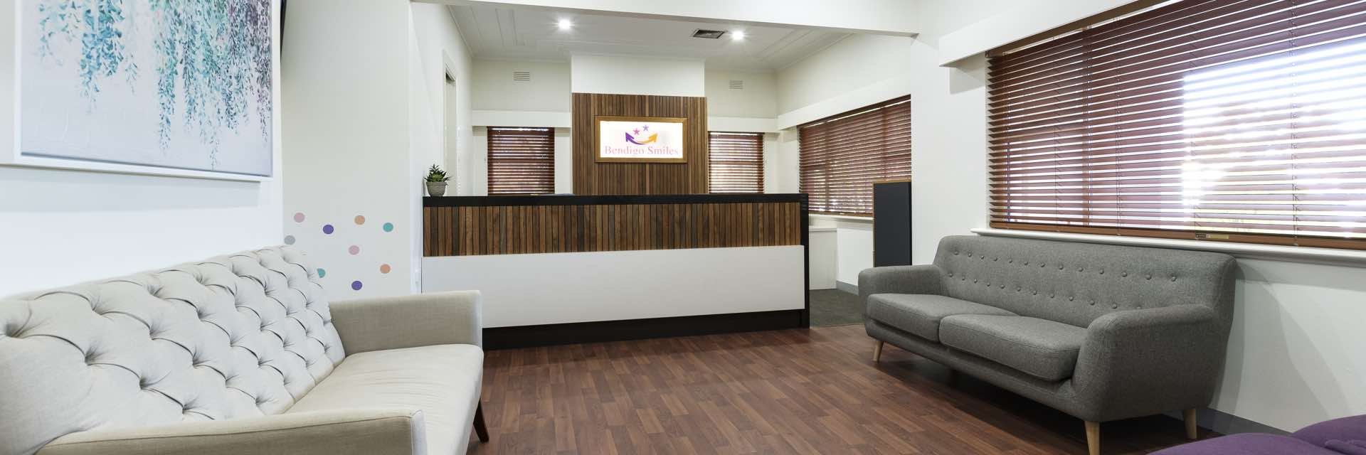 Bendigo Smiles Dentist - Reception Area / Waiting Room